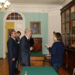 После Круглого стола гости посетили мемориальную экспозицию «Карамзинская общественная библиотека»